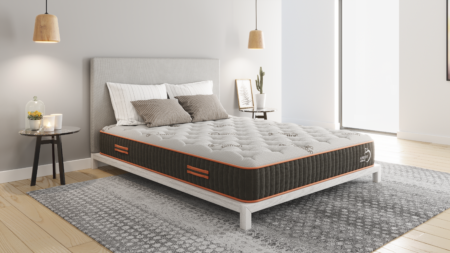 apricot 10 inch bedroom rendering
